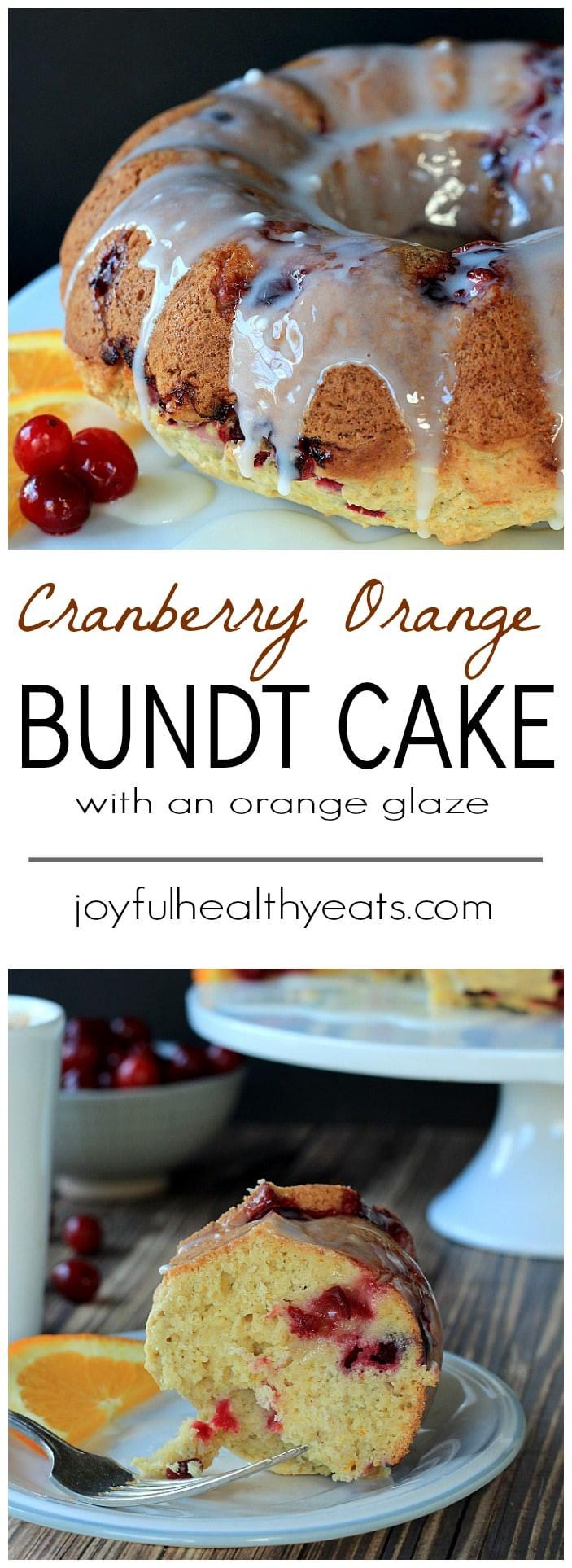 Cranberry Orange Bundt Cake  Cranberry Orange Bundt Cake with an Orange Glaze