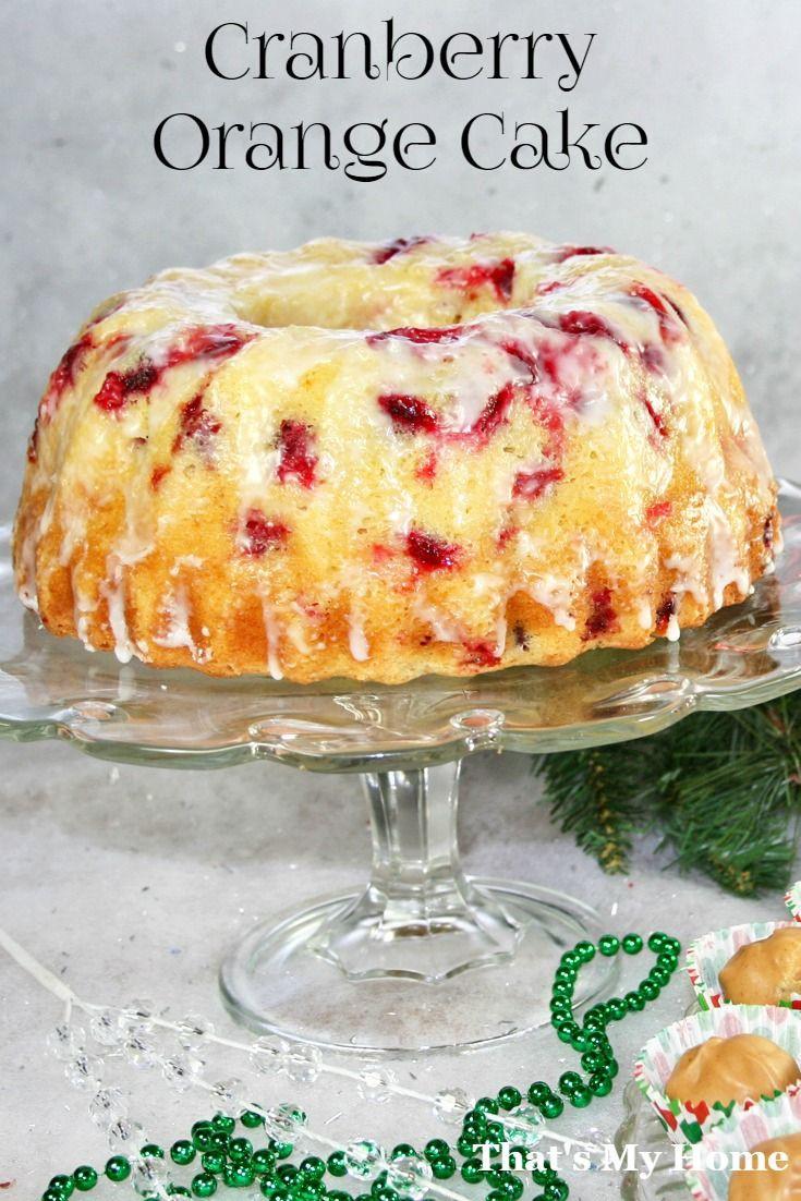 Cranberry Orange Bundt Cake  Cranberry Orange Bundt Cake