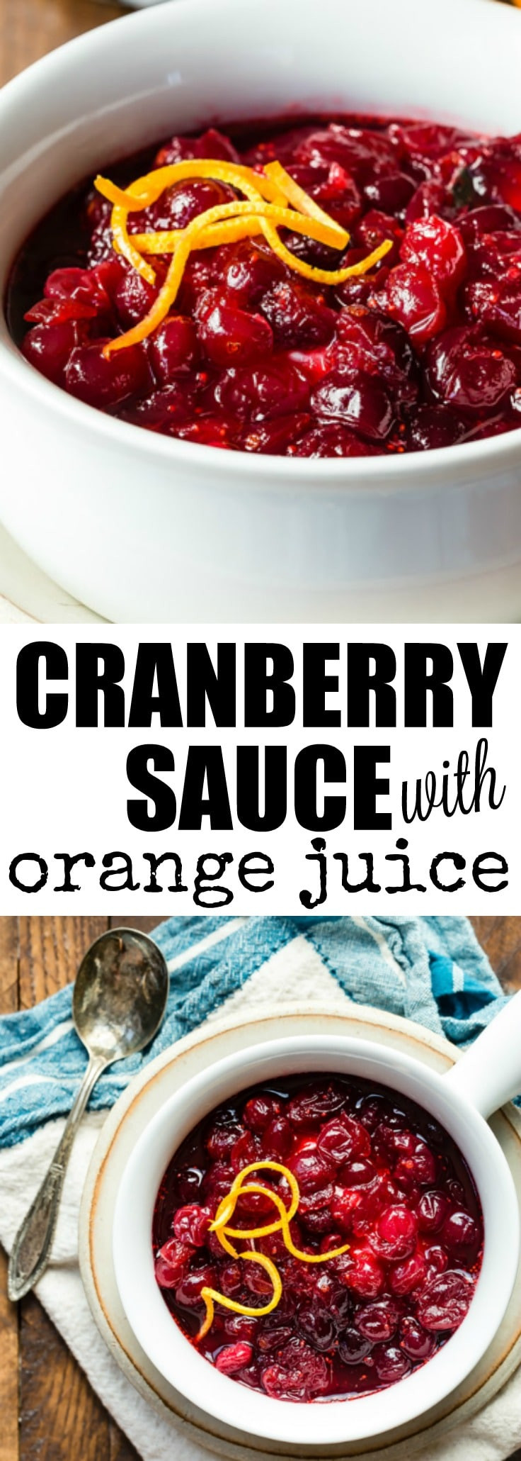 Cranberry Recipes For Thanksgiving  Cranberry Sauce Recipe