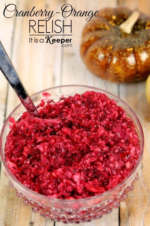 Cranberry Recipes For Thanksgiving  25 best ideas about Cranberry Orange Relish on Pinterest