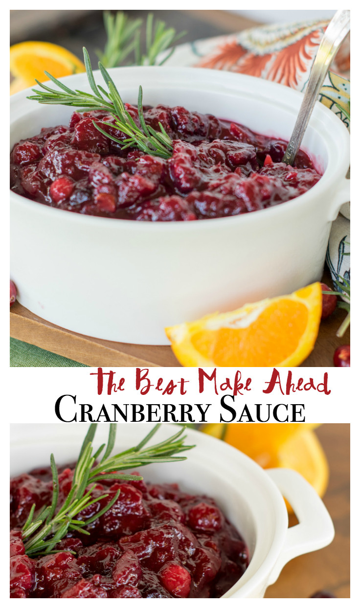 Cranberry Sauce Recipes  The Best Cranberry Sauce Ever Quick Easy and Make Ahead
