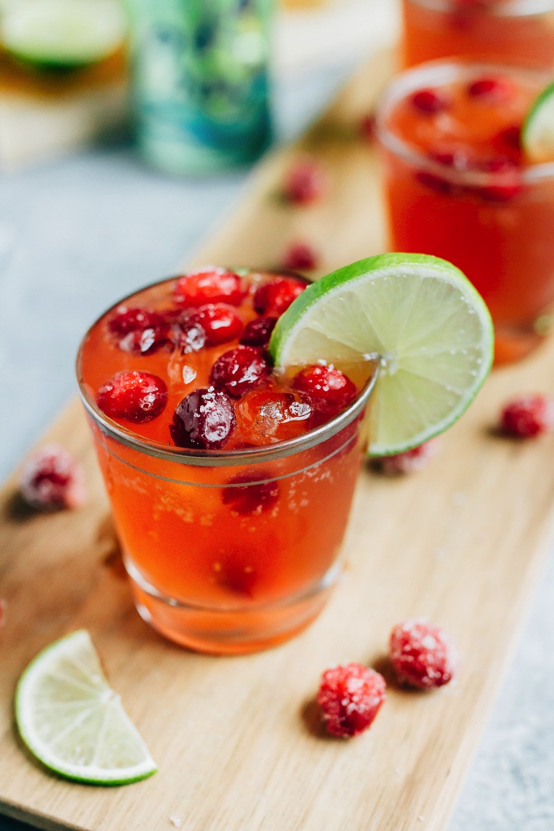 Cranberry Vodka Drinks  Sparkling Vodka Cranberry with Lime Eating Bird Food