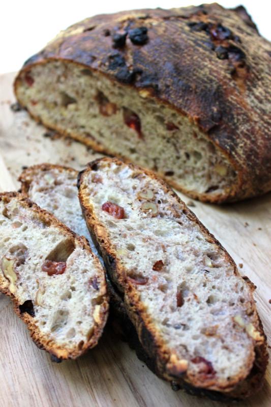 Cranberry Walnut Bread  Crusty Cranberry Walnut Bread
