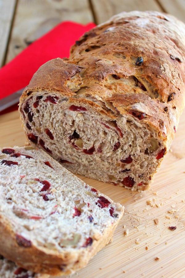 Cranberry Walnut Bread  Cranberry Walnut Oat Bread Rachel Cooks