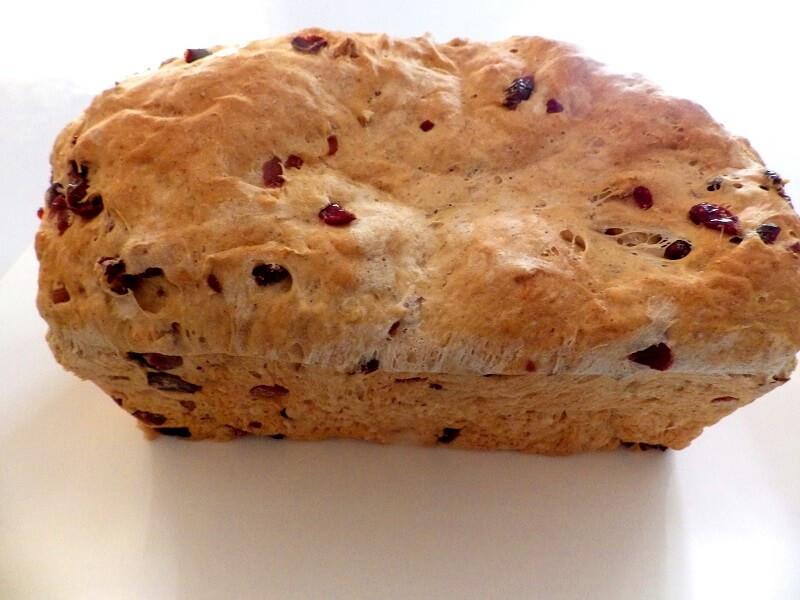 Cranberry Walnut Bread  Cranberry Walnut Bread