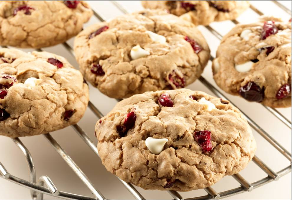 Cranberry White Chocolate Cookies  Cranberry White Chocolate Spice Cookies