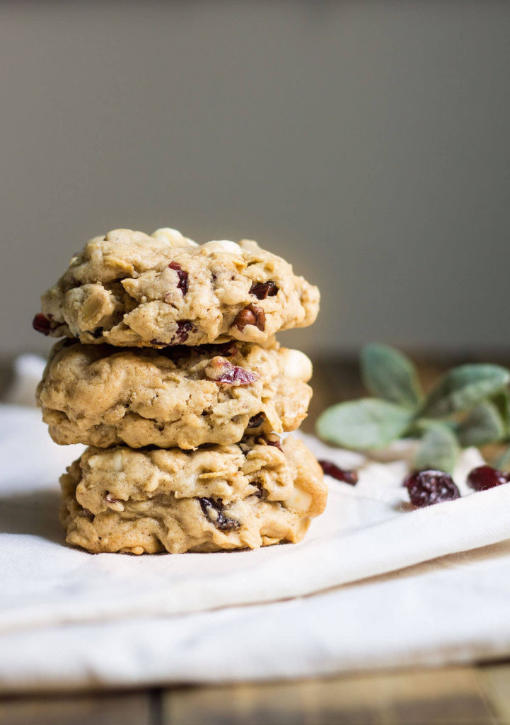 Cranberry White Chocolate Cookies  Oatmeal Cranberry White Chocolate Cookies Mon Petit Four