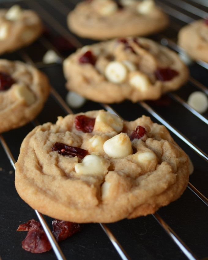 Cranberry White Chocolate Cookies  White Chocolate Cranberry Cookies
