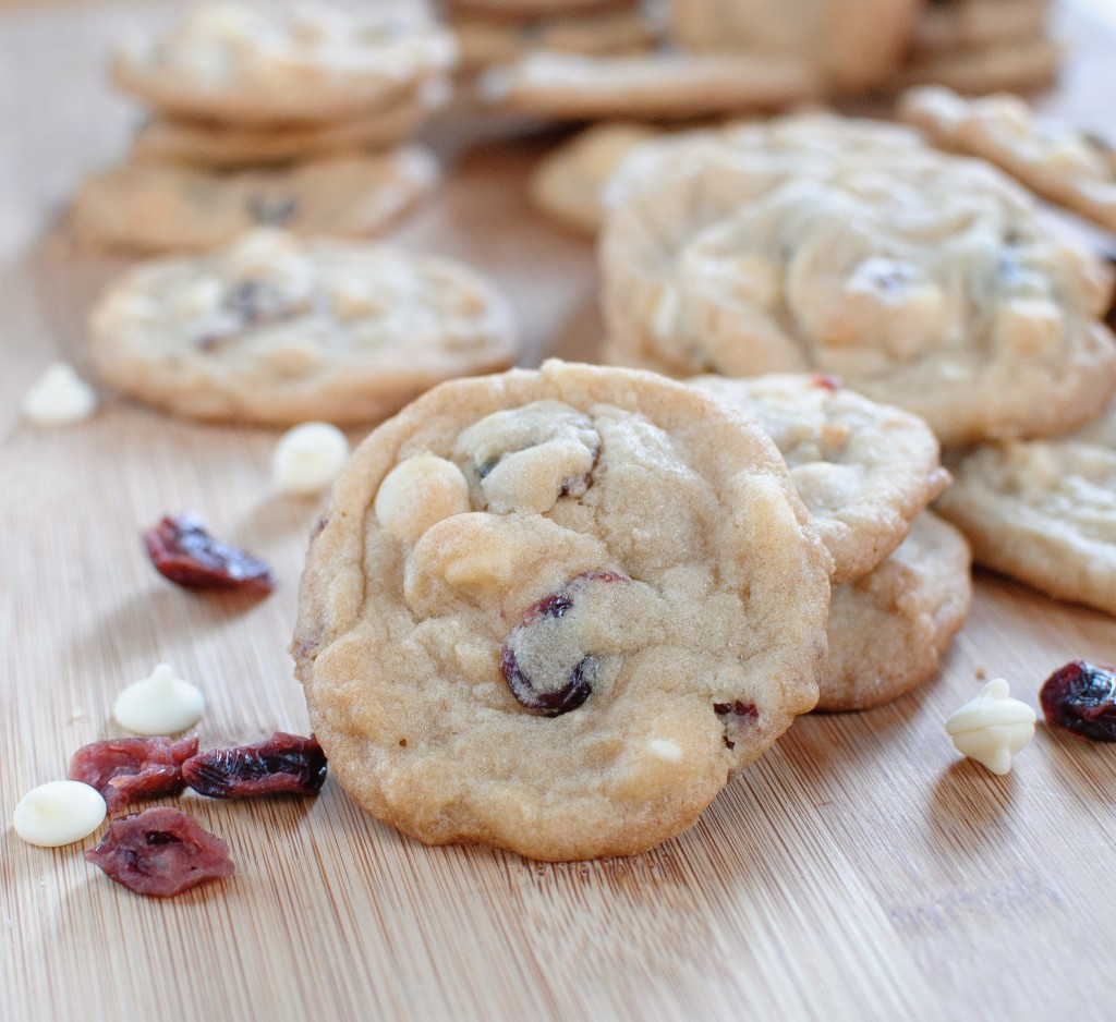 Cranberry White Chocolate Cookies  White Chocolate Cranberry Cookies Baked In