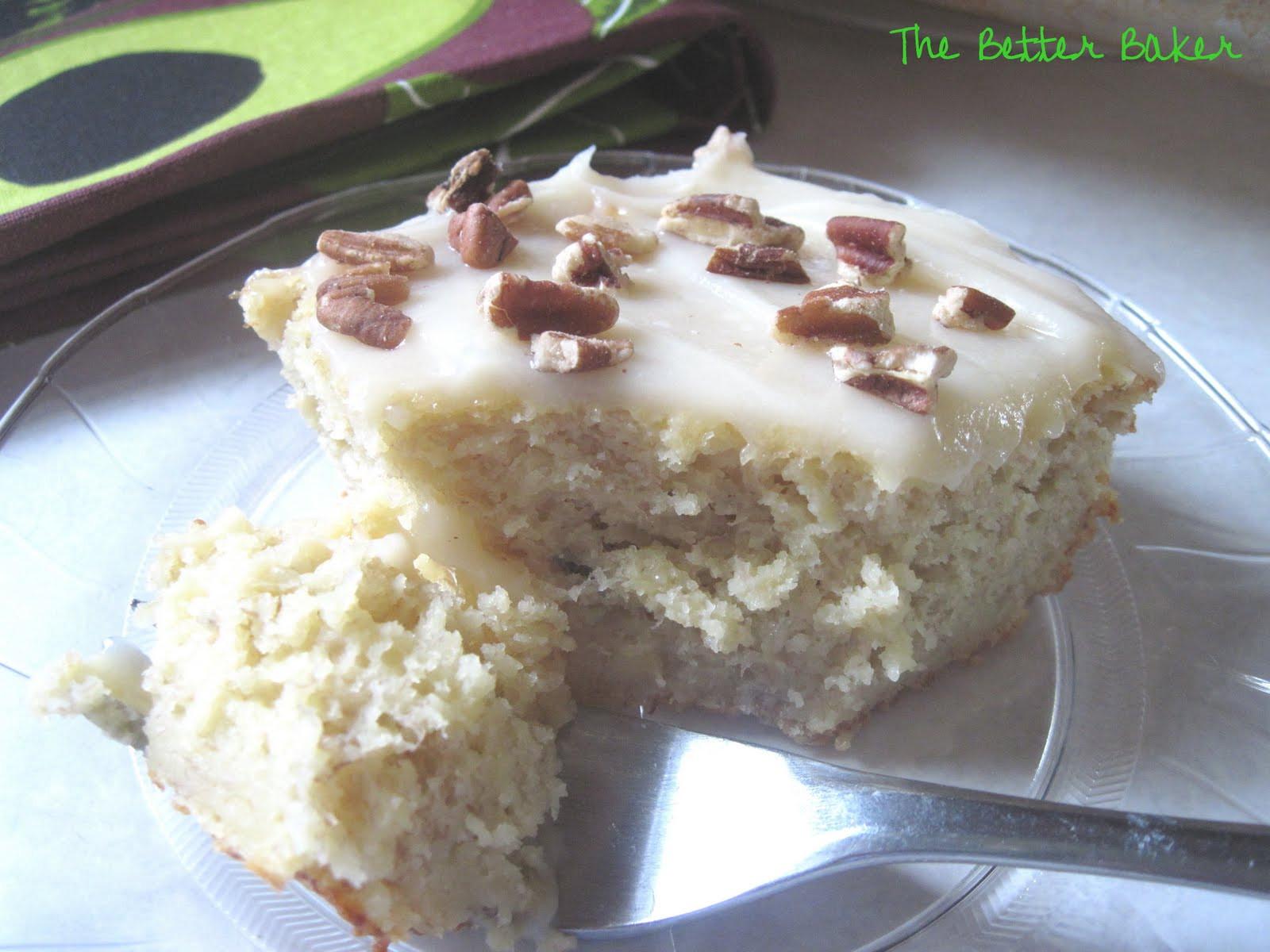 Crazy Banana Cake  The Better Baker Best Banana Cake