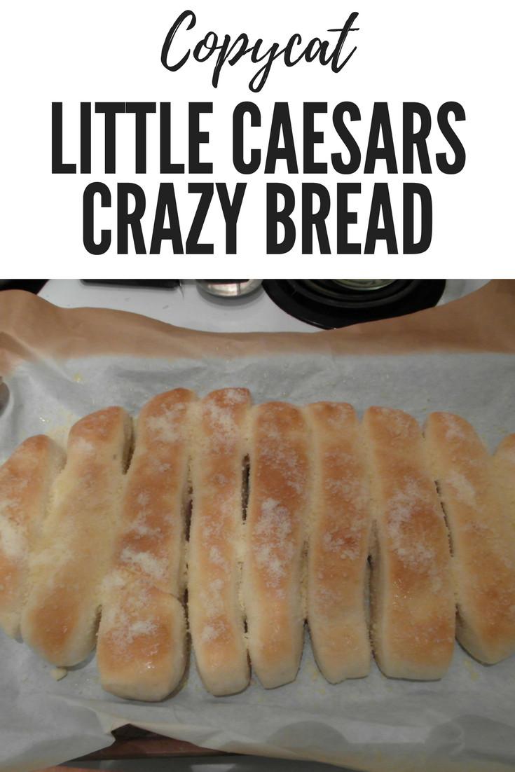 Crazy Bread Recipe  Copycat Little Caesars Crazy Bread Recipe British