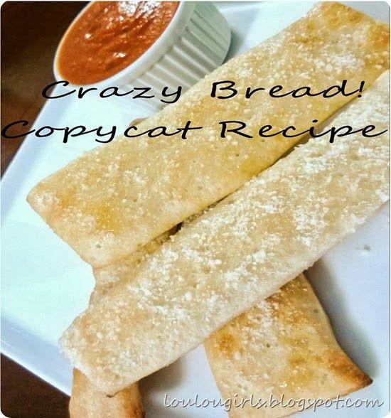 Crazy Bread Recipe  45 best COPELANDS FAVORITES images on Pinterest