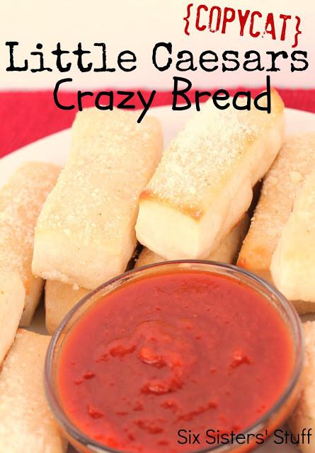Crazy Bread Recipe  The Organized Dream 25 Copy Cat Recipes From Your