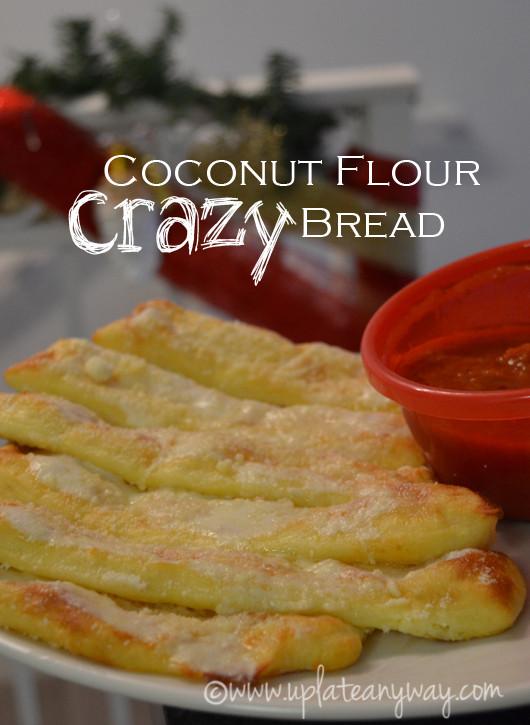 Crazy Bread Recipe  Crazy Bread Low Carb Gluten Free