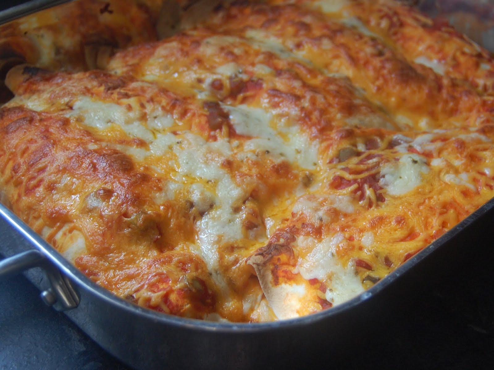 Cream Cheese Chicken Enchiladas  Cassie Craves Cream Cheese Enchiladas