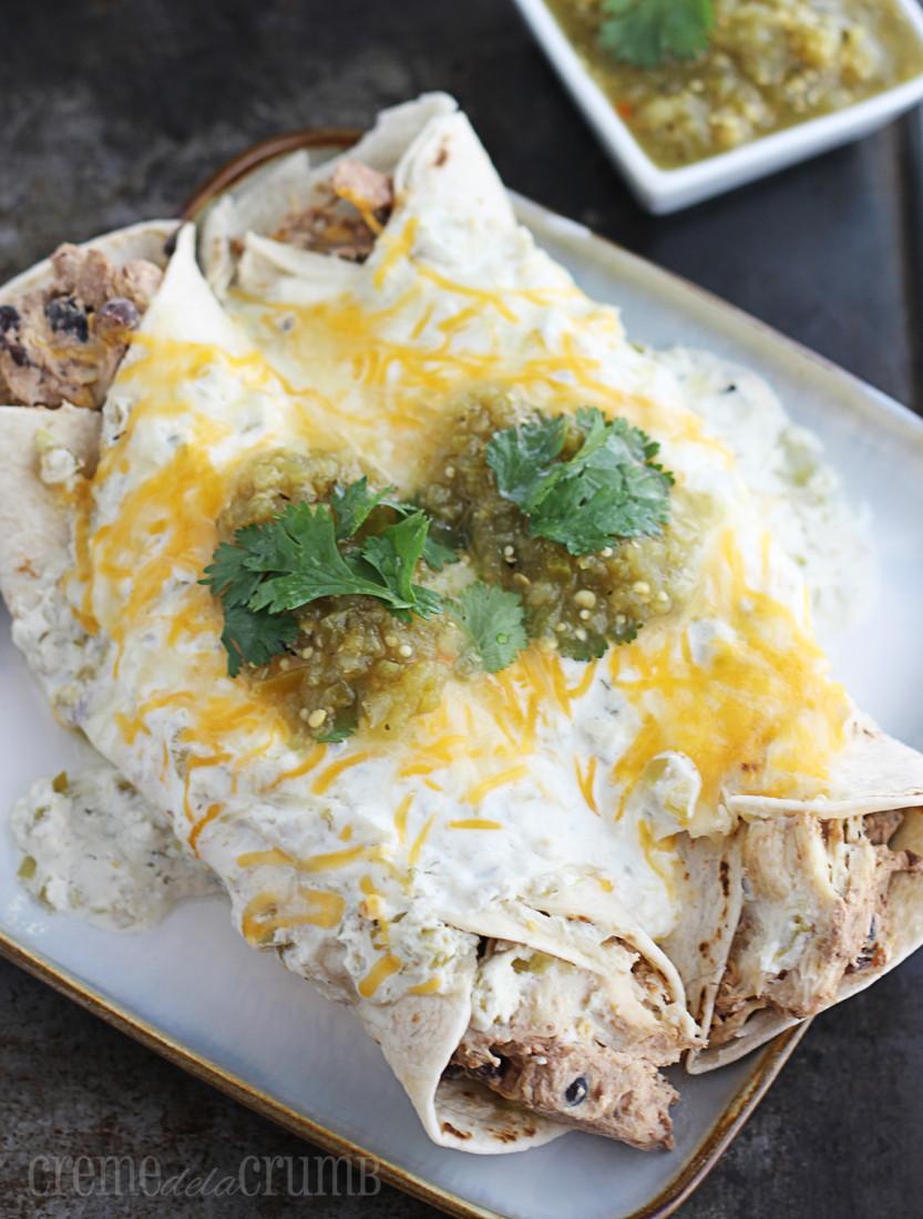Cream Cheese Chicken Enchiladas  easy chicken enchiladas cream cheese