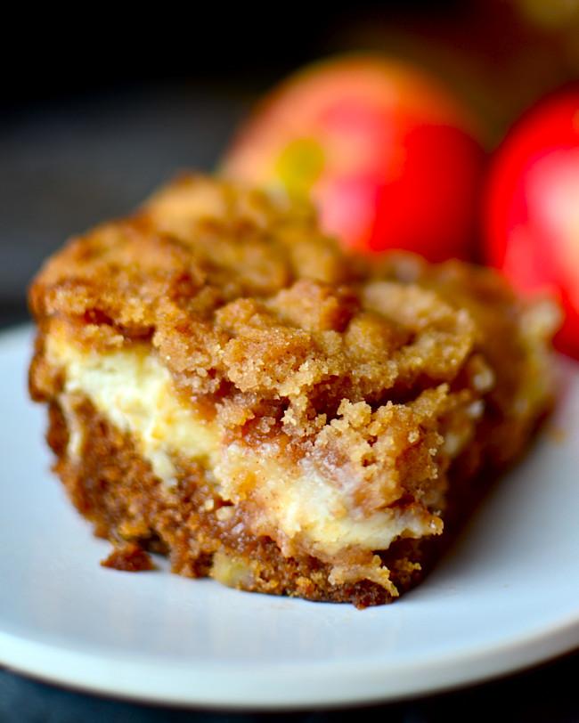 Cream Cheese Coffee Cake  Yammie s Noshery Cream Cheese Apple Coffee Cake