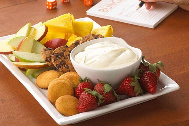Cream Cheese Dessert Dip  PHILADELPHIA Dessert Dip Recipe Kraft Canada