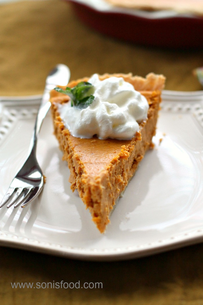 Cream Cheese Pumpkin Pie  Easy Cream Cheese Pumpkin Pie Thanksgiving EasyAsPie