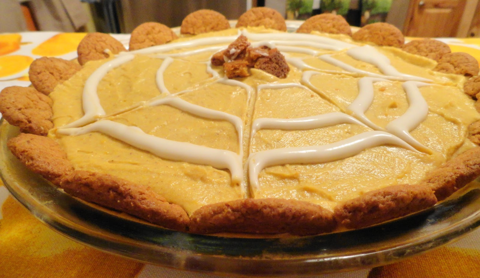 Cream Cheese Pumpkin Pie  Pumpkin Cream Cheese Pie with Gingersnap Cookie Crust