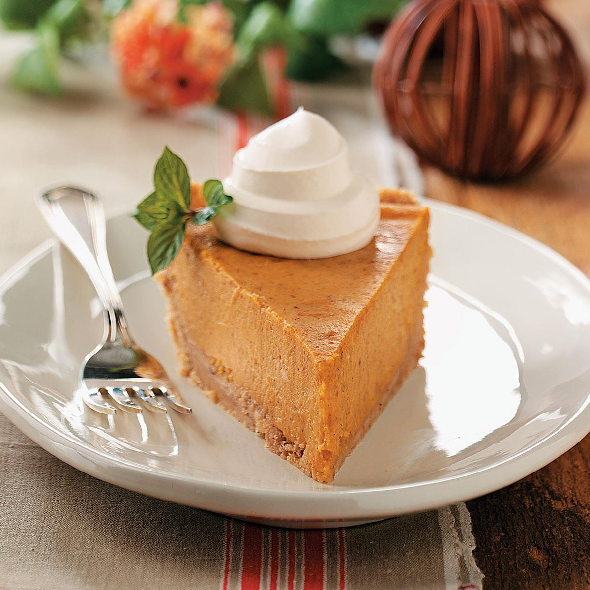 Cream Cheese Pumpkin Pie  Cream Cheese Pumpkin Pie Recipe