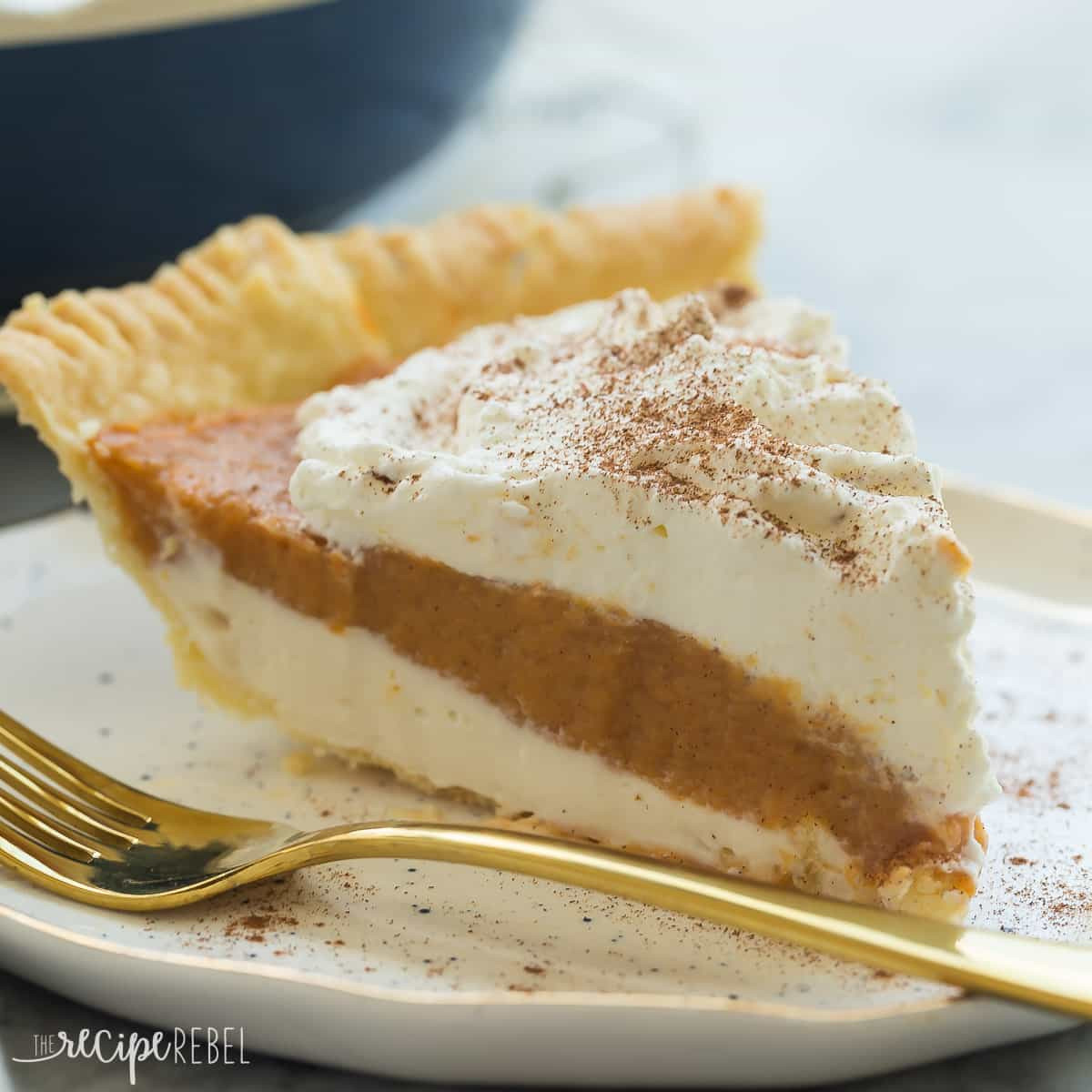 Cream Cheese Pumpkin Pie  Cream Cheese Pumpkin Pie The Recipe Rebel