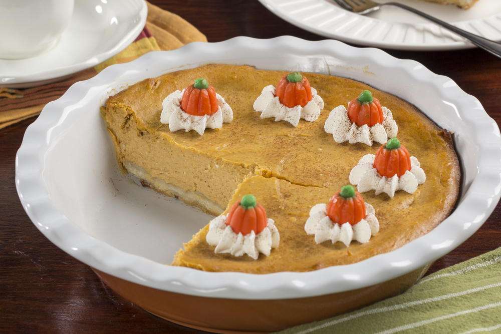 Cream Cheese Pumpkin Pie  Pumpkin Cream Cheese Pie