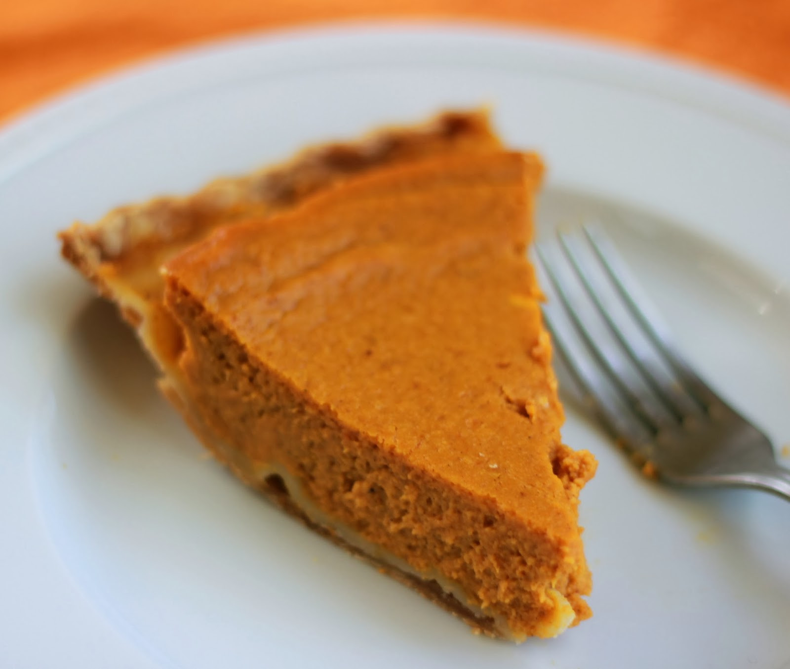 Cream Cheese Pumpkin Pie  beurrista pumpkin cream cheese pie