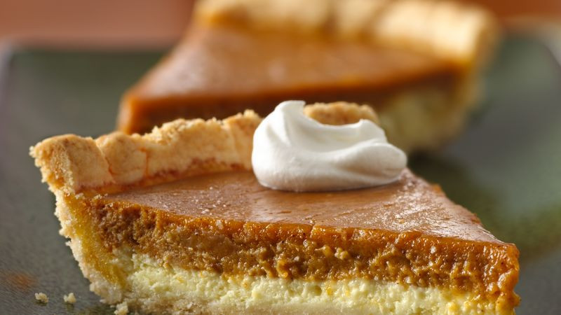 Cream Cheese Pumpkin Pie  Gluten Free Cream Cheese Pumpkin Pie recipe from Betty Crocker