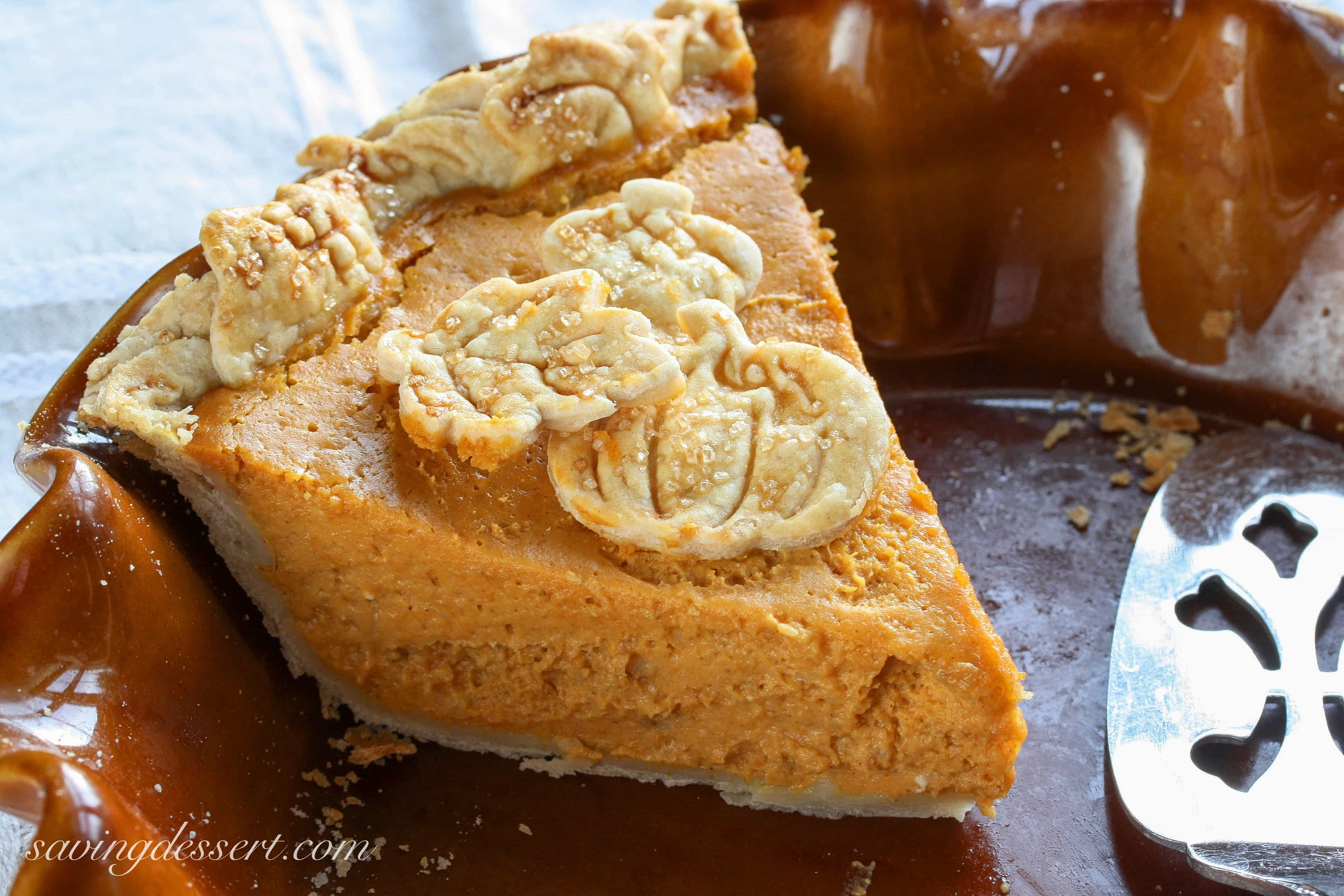 Cream Cheese Pumpkin Pie  No 44 Pumpkin Pie Saving Room for Dessert