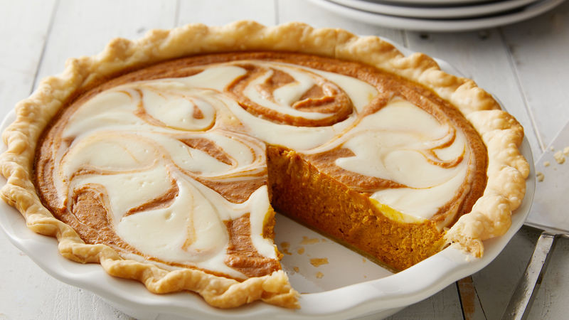 Cream Cheese Pumpkin Pie  Pumpkin Cream Cheese Pie Recipe Pillsbury