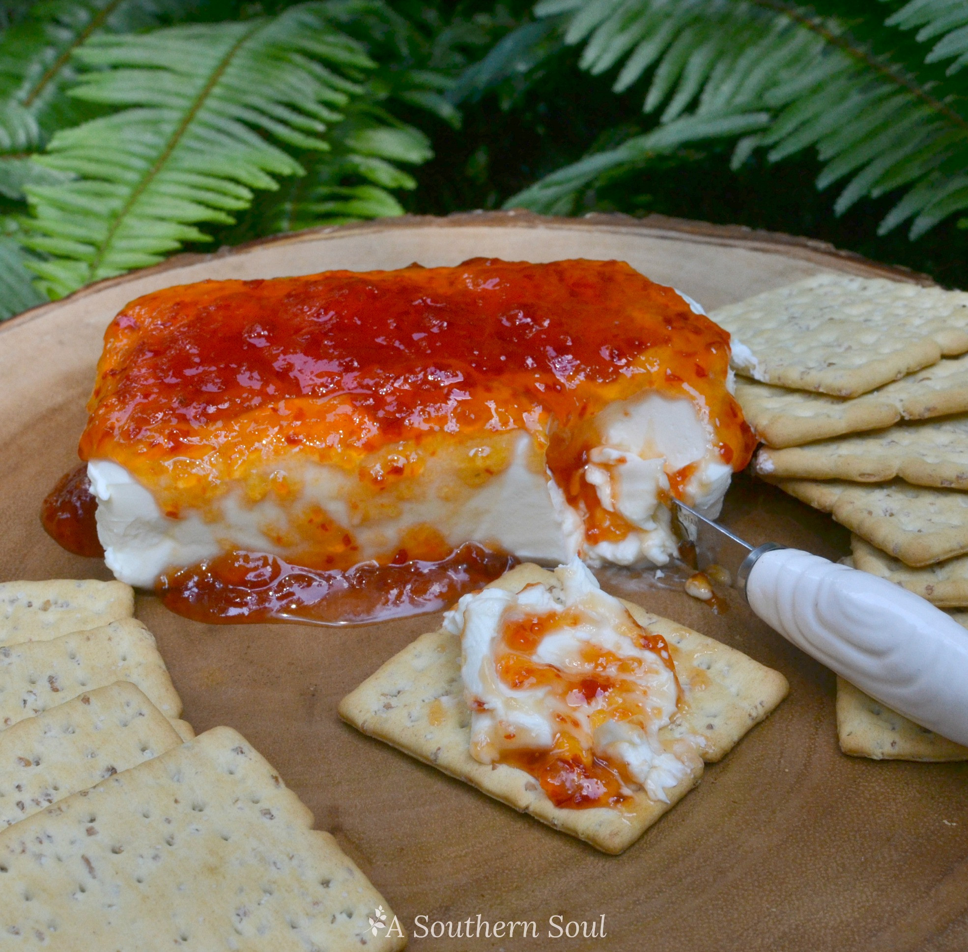 Cream Cheese Recipes Appetizers  Pepper Jelly & Cream Cheese Appetizer A Southern Soul