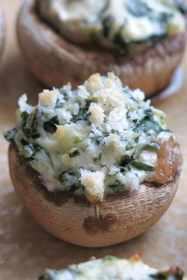 Cream Cheese Stuffed Mushrooms  Easy Stuffed Mushrooms Spinach and Cream Cheese The