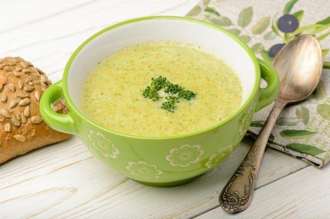 Cream Of Broccoli Soup Recipe  Cream of Broccoli Soup 7 Smart Points LaaLoosh