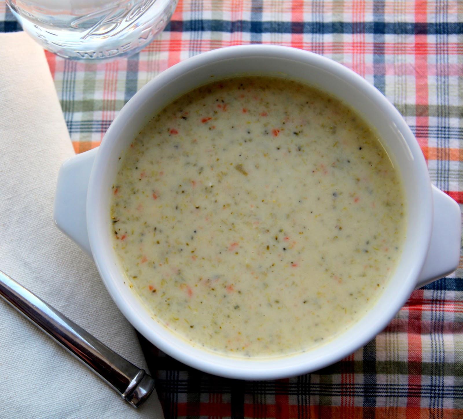 Cream Of Broccoli Soup Recipe  Cream of Broccoli Soup Recipe The Cottage Mama