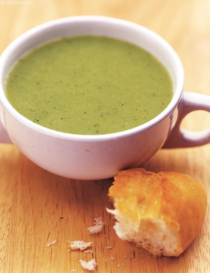 Cream Of Broccoli Soup Recipe  Cream Broccoli Soup Veg Broccoli Soup Recipe recipe