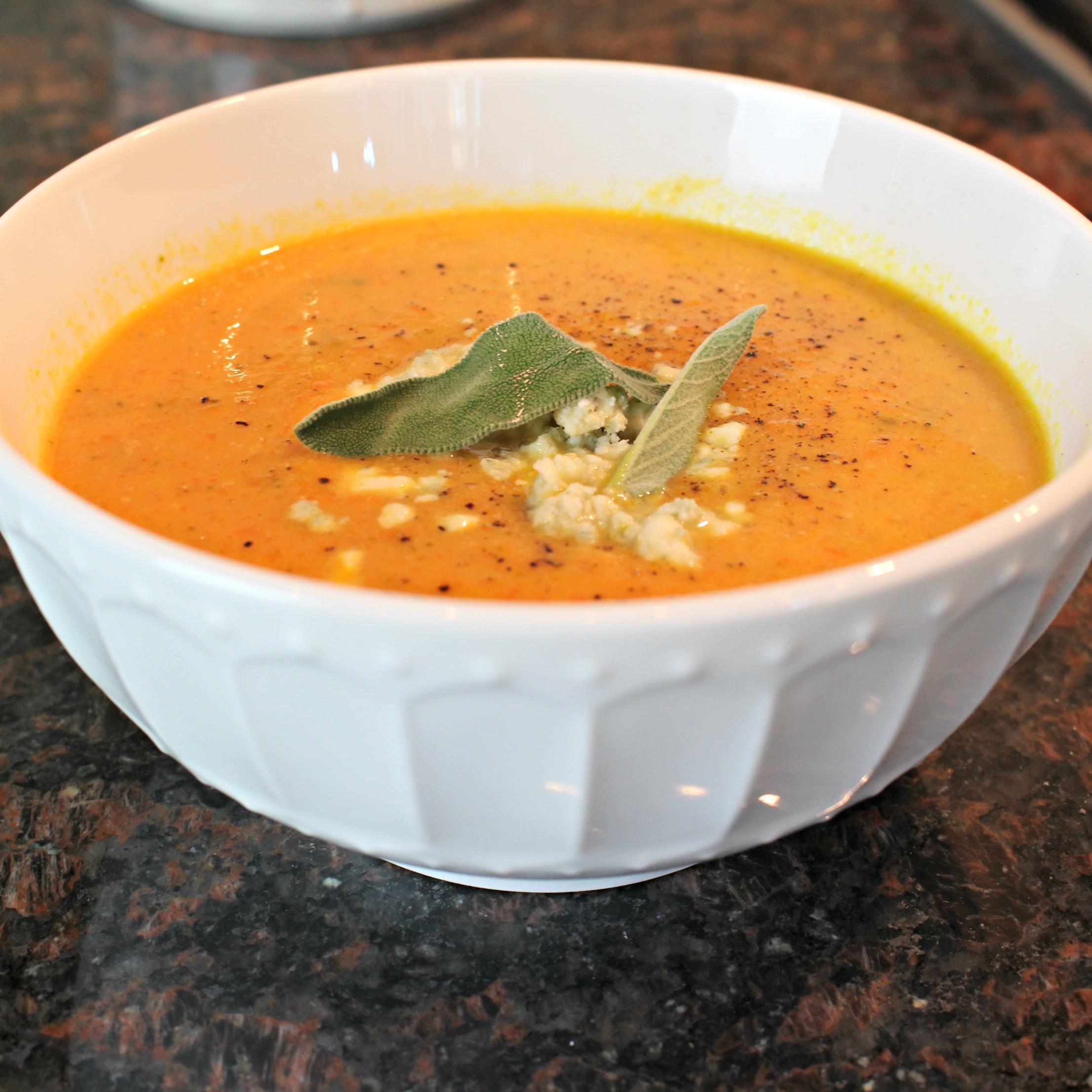 Cream Of Carrot Soup  Cream of Carrot Soup – Rachel Weiland