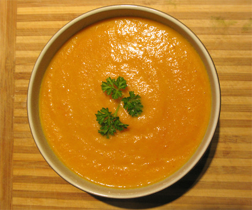 Cream Of Carrot Soup  Curry Cream of Carrot Soup