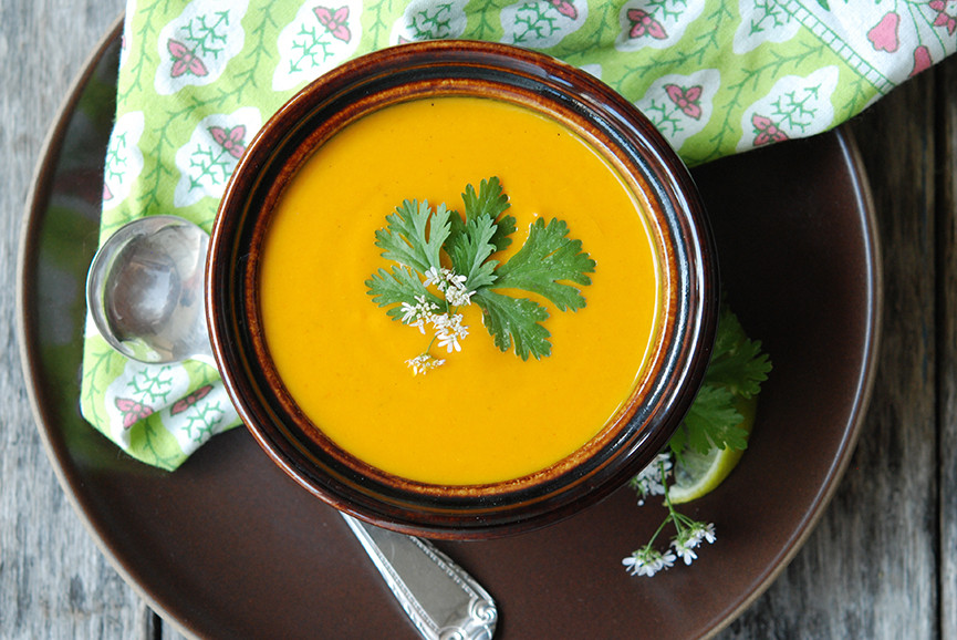 Cream Of Carrot Soup  Cream of Carrot Soup with Ginger & Curry Andrew
