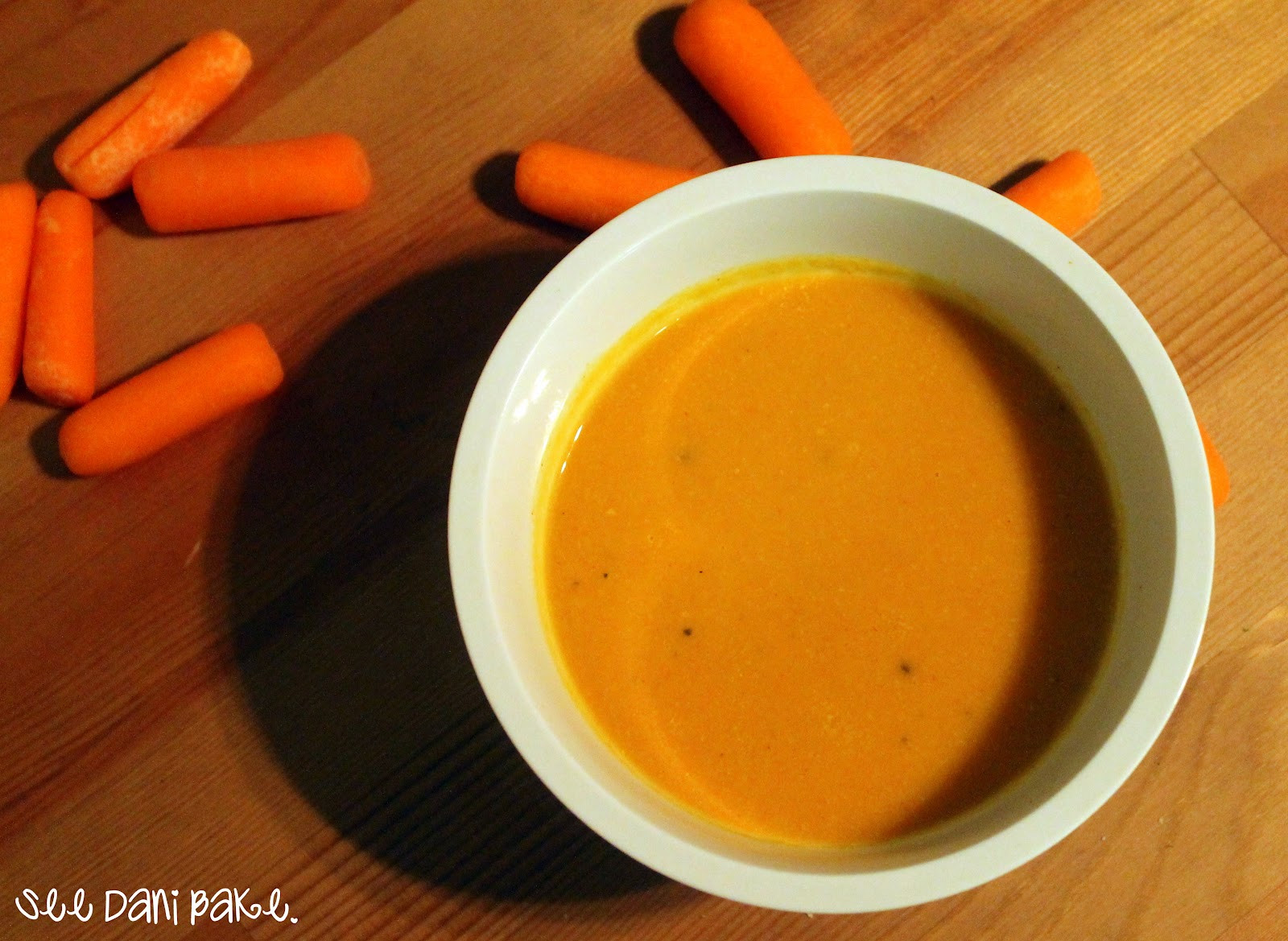 Cream Of Carrot Soup  Clean Eating Cream of Carrot Soup