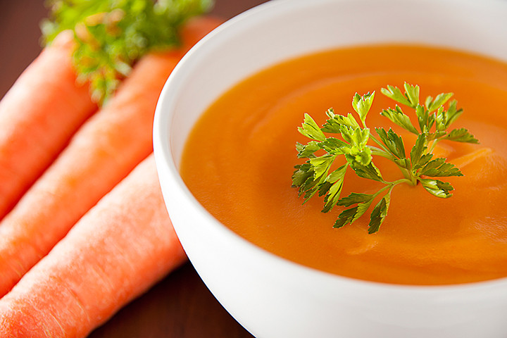 Cream Of Carrot Soup  Carrot Ginger Soup With Chicken