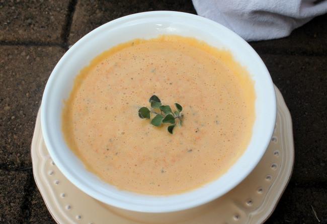 Cream Of Carrot Soup  Easy Homemade Cream of Carrot Soup Recipe