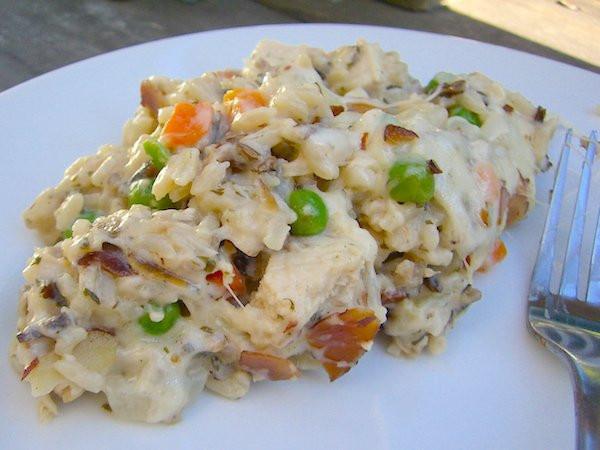 Cream Of Chicken And Rice Casserole  Chicken Wild Rice Casserole