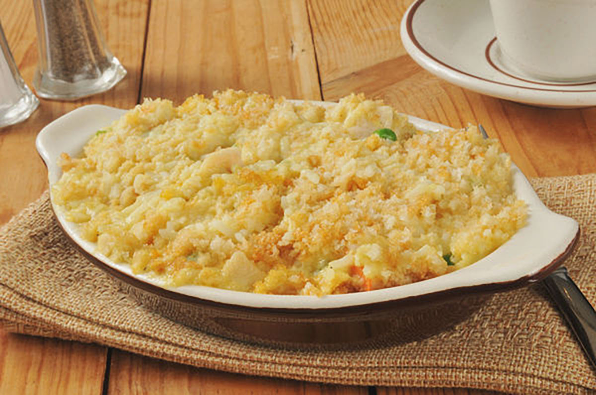 Cream Of Chicken And Rice Casserole  Hearty & Classic Casserole Creamy Chicken And Rice Bake