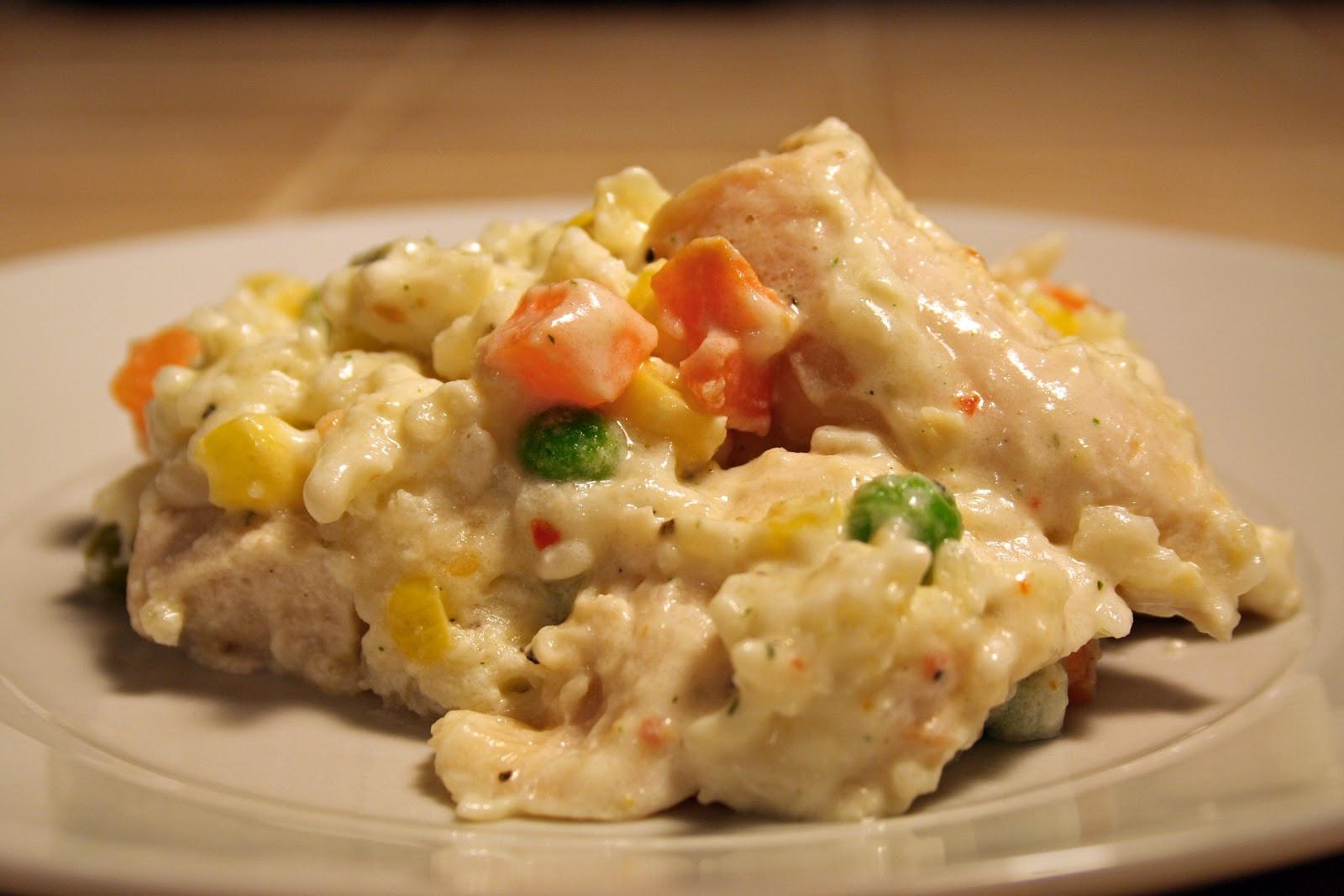 Cream Of Chicken And Rice Casserole  Lazy Gluten Free Chicken & Rice Casserole