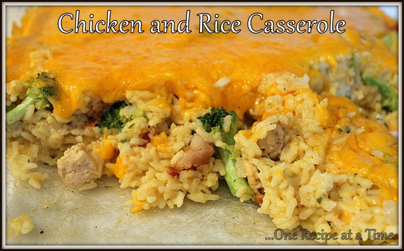 Cream Of Chicken And Rice Casserole  Creamy Chicken And Rice Casserole Recipe — Dishmaps