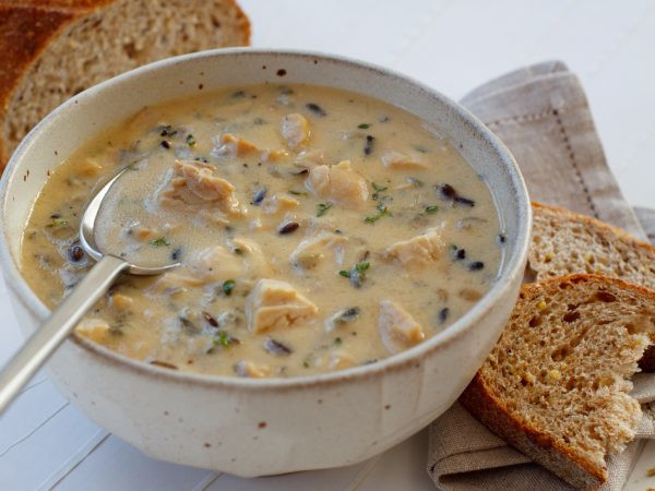 Cream Of Chicken And Wild Rice Soup  Recipes with Greek Yogurt Weekly Meal Planner