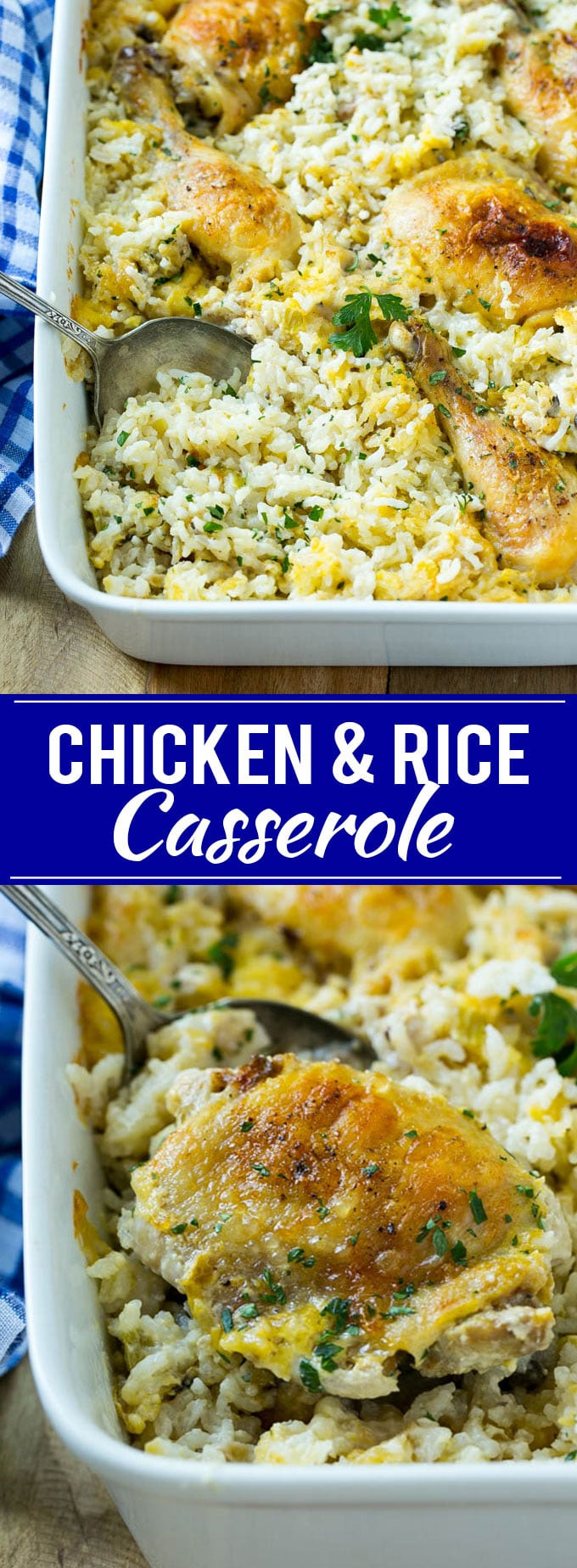 Cream Of Chicken Casserole  Chicken and Rice Casserole Dinner at the Zoo