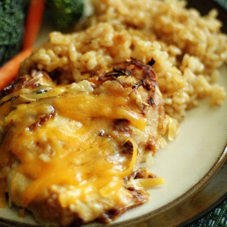 Cream Of Chicken Casserole  Cheesy Chicken & Rice Casserole Recipe