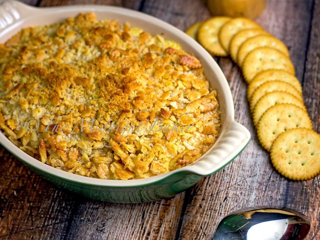 Cream Of Chicken Casserole  Creamy Chicken Ritz Casserole The Midnight Baker